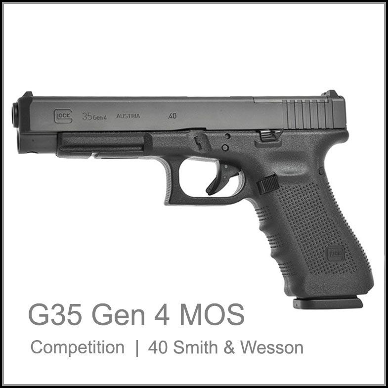 Glock 35 Gen 4 MOS