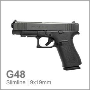 Glock 48 Black Rail