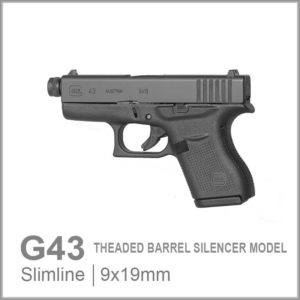 Glock 43 SIL Threaded Barrel