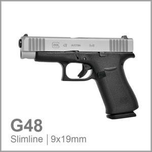 Glock 48 9mm slimline pistol