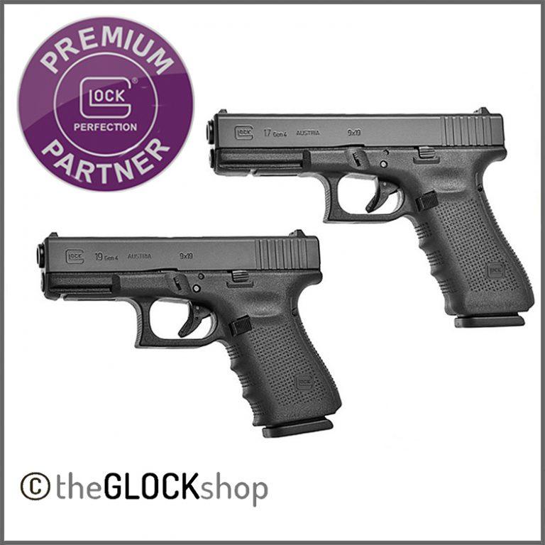Glock 17 vs Glock 19