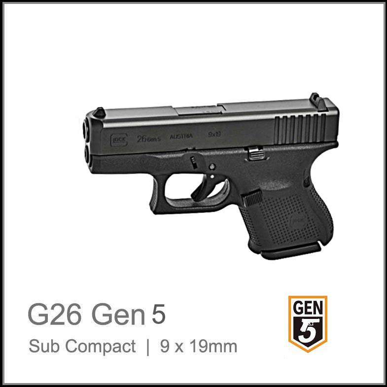 Glock 26 Gen 5 Online South Africa Best Price The Glock Shop