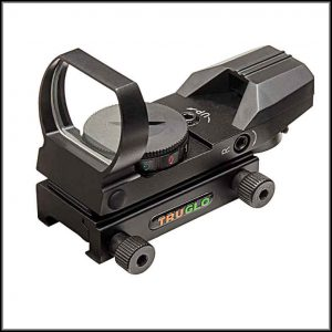 Truglo Dual Color Multi Reticle Open Red Dot