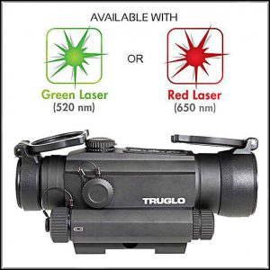 Truglo_Tru-Tec_30mm_red_dot_reflex_gunsight_laser